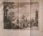 antique print (prent) - Oostende, na de overgave aan de Aartshertogen Albertus en Isabella in `t jaar 1604.