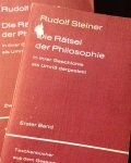 Steiner, Rudolf - 2 Delen in 1 koop: Die Rätsel der Philosophie in ihrer Gechichte als Umriss dargestellt. Band I & II