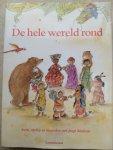 Donkelaar, Maria van, Rooijen, Martine van - De hele wereld rond / lezen, zingen, spelen en knutselen met jonge kinderen