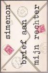 Simenon, Georges - 456  Brief  aan mijn rechter