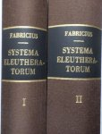 Fabricius, J.C. - Systema Eleutheratorum, 2 delen