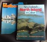 de Mervyn Dykes (Auteur), Martin Barriball (Auteur, Photographies) - New Zealand's North Island in Colour + boek Melbourne in Color