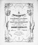 Schumann, Robert: - [Op. 066] 6 Impromptus für das Pianoforte zu vier Händen. Op. 66. Complet