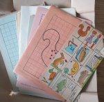 Hoeksema, Daan - Heb ik zelf gekleurd doortrekken of teekenen en Kleurplaatjes voor mij van Daan Hoeksema