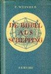 Weinreb, F. - De bijbel als schepping