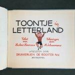Hermans, Hubert and Schuermans, M. (ills.) - Toontje in Letterland