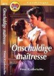 Gabrielle Tina  Vertaling  Saskia  Shirley - Onschuldige Maitresse  Candlelight Historische roman 875