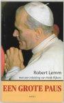 Robert Lemm - Een grote paus