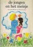 """Eykman, Karel en Boumans, Bert (ills.) - De jongen en het meisje : het Hooglied naverteld ; Naar de televisie-serie """"Woord voor Woord."""""""