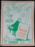 Strauss, Johan ( bandontwerp: Jac da Costa) - Kunstlerleben