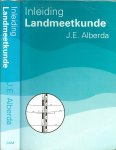 Alberda Prof. Ir. J.E. met Ing. H.C. Pouls  en C.H. van Eldik  & J.E. Schievink - Inleiding landmeetkunde