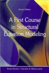 Raykov, tenko / Marcoulides, George A - A first course in structural equation modeling / second edition