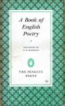 Harrison, G.B. (coll.) - A book of English poetry. Chaucer to Rossetti