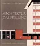 Zimmermann, G., - Architektur Darstellung.