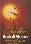 Hemleben, J. - Rudolf Steiner. Antwoord op de toekomst. Een biografie