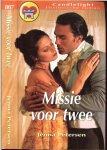 Petersen Jenna Vertaling Carla Hazewindus - Missie voor twee  Candlelight Historische roman  807