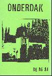 Div. auteurs - De AS 081 Onderdak (Bijdragen van Hans Ramaer,Marius de Geus, Wijnand Duyvendak, Rudolf de Jong e.a.)