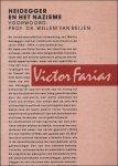 Farias, Victor. - Heidegger en het nazisme.
