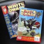 redactie - Games Workshop. - White Dwarf 209 May en 229 january