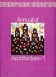 Francisco Asensio Cerver e.a. - Annual of Architecture / 1