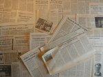 Amerongen, Martin van - Aantal (37) knipsels: artikelen en ingezonden brieven 1984 / 1989