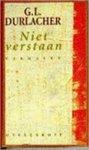 Durlacher, G.L. - Niet verstaan / druk 2 / verhalen