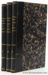 Reiffenberg, le baron de - Histoire du comté de Hainaut (3 vols complete).