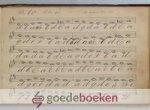 , - Handgeschreven eenstemmig muziekboek voor de psalmen, met noten en letters --- Mogelijk geschreven door G. van Wingerden, Verwersdijk no. 93 te Delft