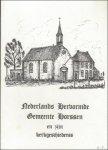 Dibbits. - Nederlands Hervormde Gemeente Horssen en zijn kerkgeschiedenis