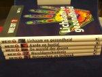 Wright, M/ Bruce, J. /  Bodycombe, D. / Bastable, J. - Wie weet het ? 3 boeken : Lichaam en gezondheid /  De wereld der dieren /  Wereldgeschiedenis /
