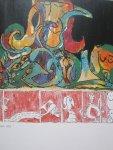 Laissaigne , Jacques  / Caillois, roger - Alechinsky   Acryl-schilderijen  tekeningen  en grafiek Boymans van Beuningen