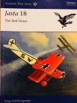 Van Wyngarden, Greg. - Jasta 18. The Red Noses. Aviation Elite Units # 40