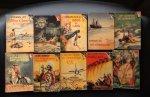 diversen (zie info) tekeningen en omslagen  Rein van Looy - Junior Jongensboeken