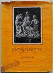 Jaarsma Menno - Antiquiteiten en wat zij ons vertellen Tekst 42 pp en 52 afbeeldingen Kunstboeken Vorm en Kleur No.2