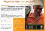 Prins, Angela - Prentbriefkaart: Bij ons is alles lekker - Kippenboutjes in tomatensaus uit Sierra Leone