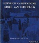 Rosmalen, Jan F.M. - e.a. - Heinrich Campendonck / Edith van Leckwijck