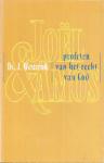 Westerink, Ds. J. - Joel  en Amos --- Profeten van het recht van God