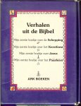 Pipe Rhona  Geillustreerd door Kareen Taylerson   Vertaald en bewerkt  door Marijke Bleij - Verhalen uit de bijbel  4 deeltjes in Foedraaltje