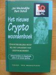Meulendijks ,Jan - Schuil, Bart - Cryptowoordenboek   /10  voor taal