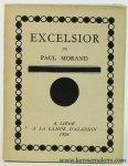 Morand, Paul - Excelsior (U.S.A.).