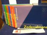 Savornin Lohman, P.M. de , G.J.Slump, K. Blits e.a./ Erpecum, I. van ( eindredactie) - Zedenalmanak / 5 delen en diskette in schuifdoos