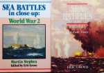 Grove, Eric.   Stephen, Martin. - Sea Battles in close-up; World War 2. Complete set van 2.