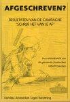 Nicolas, Els e.a. - Afgeschreven? Resultaten van de campagne 'schrijf het van je af'. Het minimabeleid van de gemeente Amsterdam kritisch bekeken