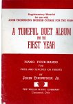 Thompson John - A tuneful Duet Album for the First Yeat Piano Four Hands