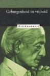 Krishnamurti, J. - Geborgenheid in vrijheid