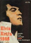 Diverse auteurs - Elvis Extra 1986 , engelstalig magazine met o.a. 16 page RCA Elvis Catalogue , softcover , goede staat (klein vouwtje hoek achterkant