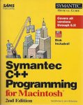 Rhodes, Neil, and Julie McKeehan - Symantec C++ programming for Macintosh.