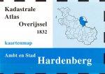 A. Bordewijk,e.a. (sam.) - Kadastrale atlas Overijssel 1832. Ambt en stad Hardenberg