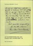 Mia Van Mechelen. - Uit de briefwisseling van Frans van Cauwelaert 1/A.