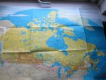 Canadian Pacific - All Services Map van Canada : Railways - Steamships - Airlines